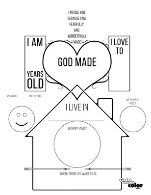 God Made Me Printable